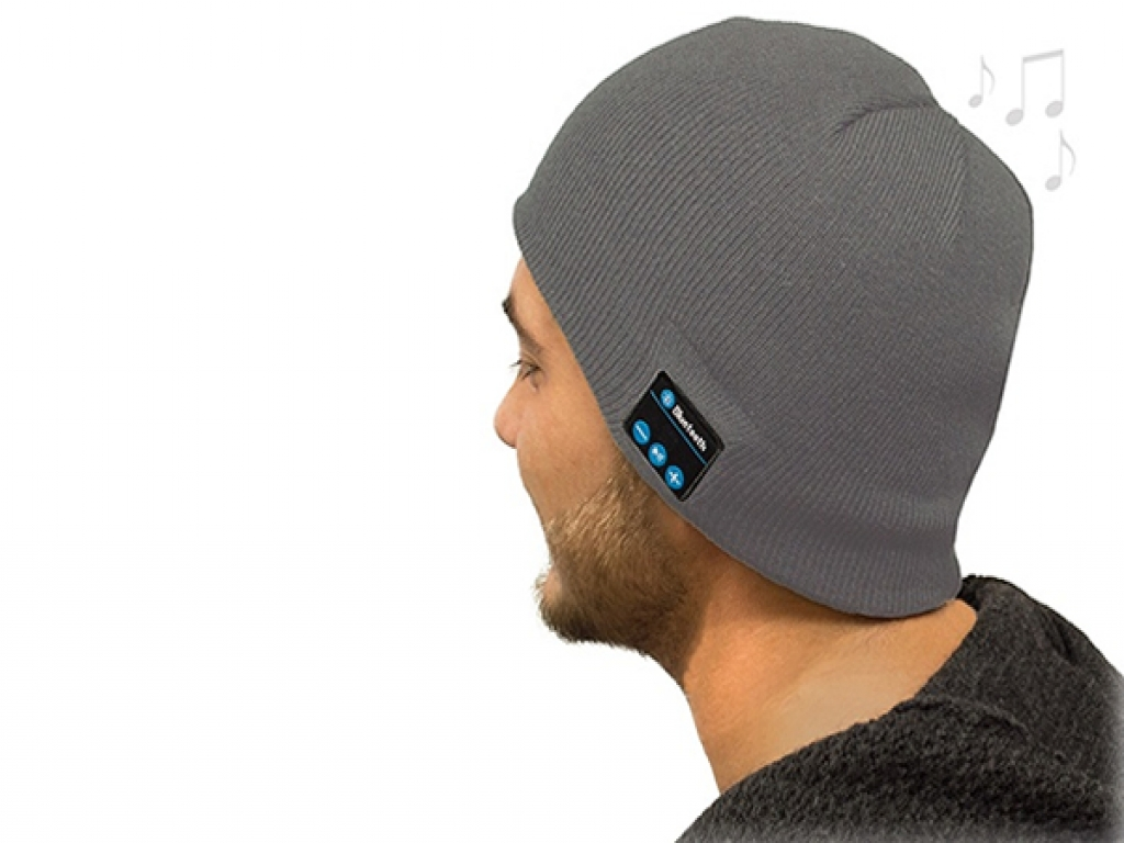 Beanie muts met BT koptelefoon voor Apple Iphone 6 Plus