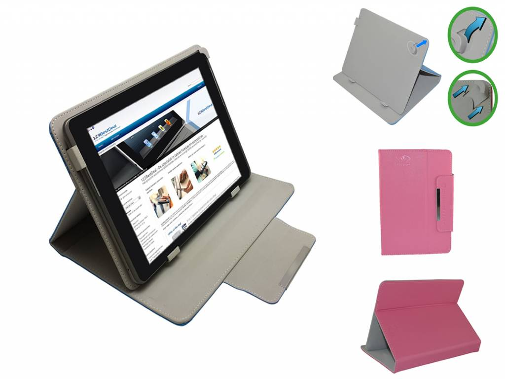 Universele Diamond Class Case voor 7 inch Tablet en eReader