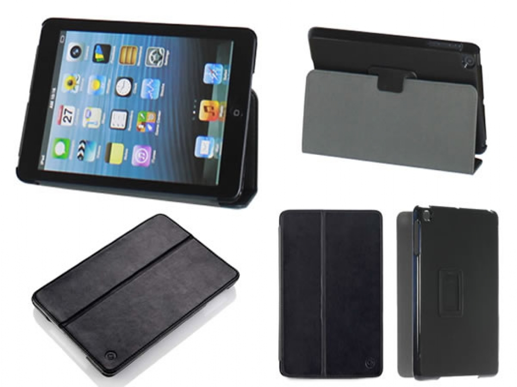 Gear4 CoverStand Case MP104G Zwart voor Apple iPad Mini