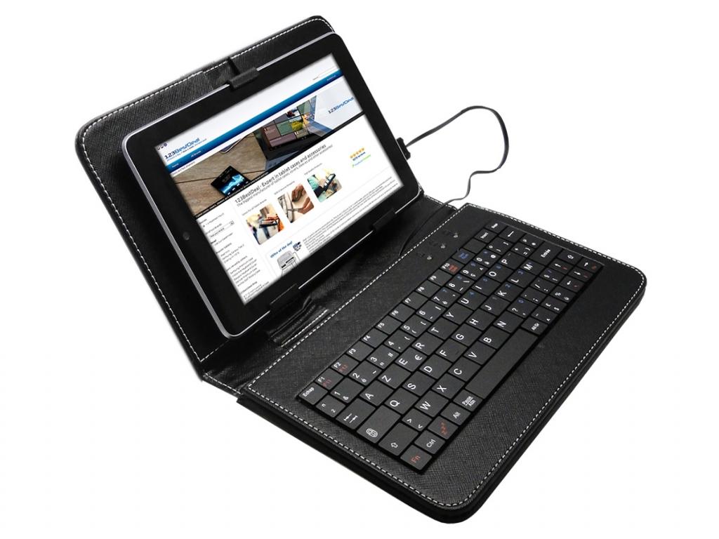 Keyboard Case | Geschikt voor de Akai Kids tablet 7 | AZERTY