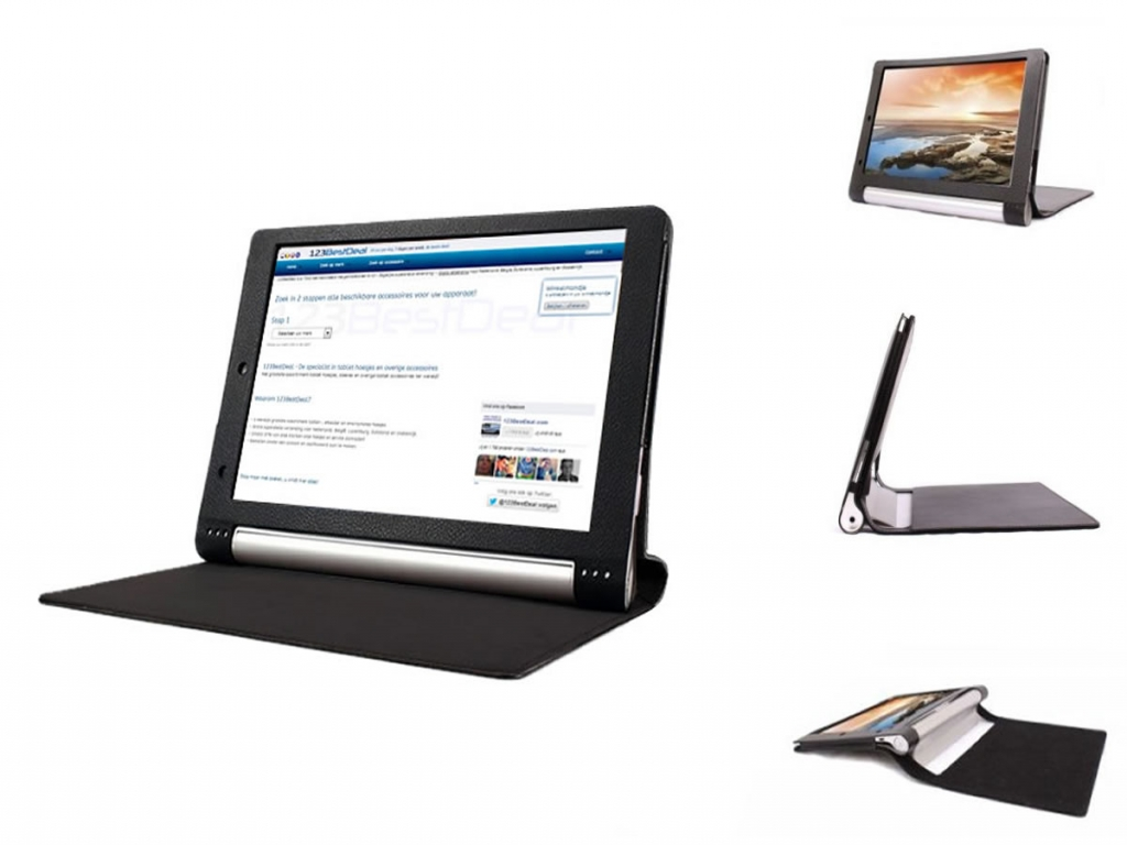 Book Case voor Lenovo Yoga Tablet 10 Hdplus