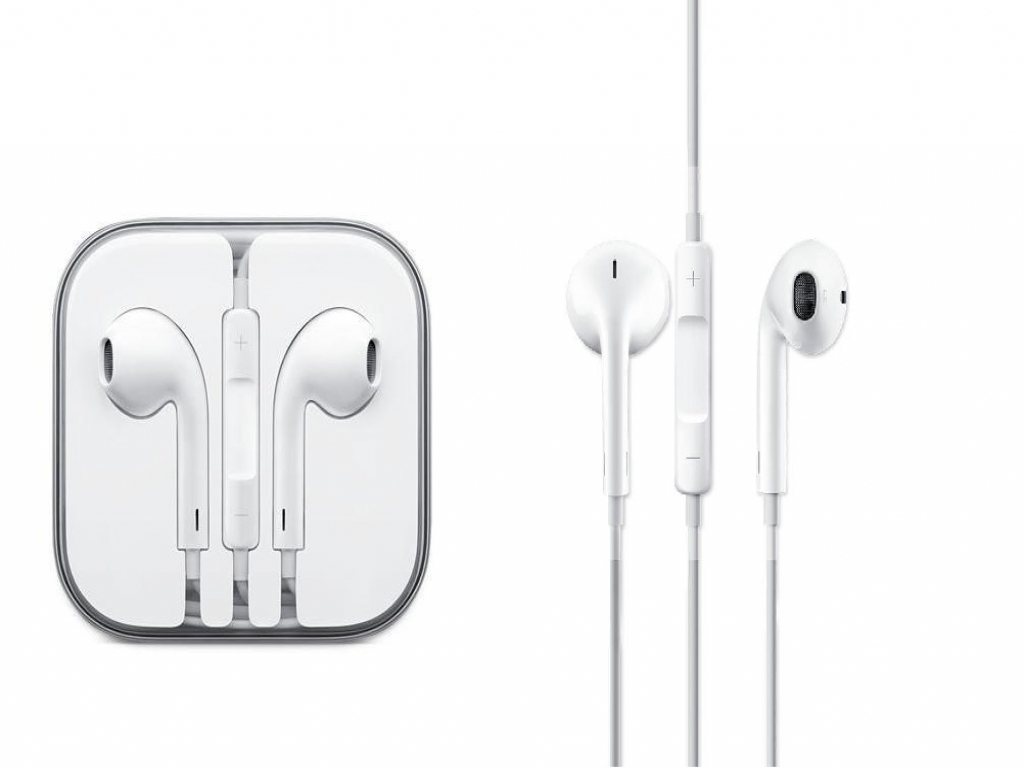 Apple EarPods voor Iphone 4 met afstandsbediening en microfoon