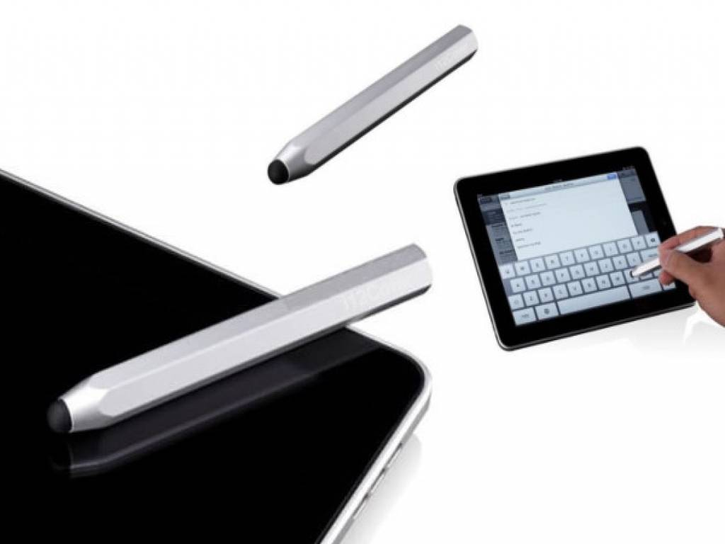 AluPen Stylus | Stylus pen voor Apple Ipad 3 | Zilver