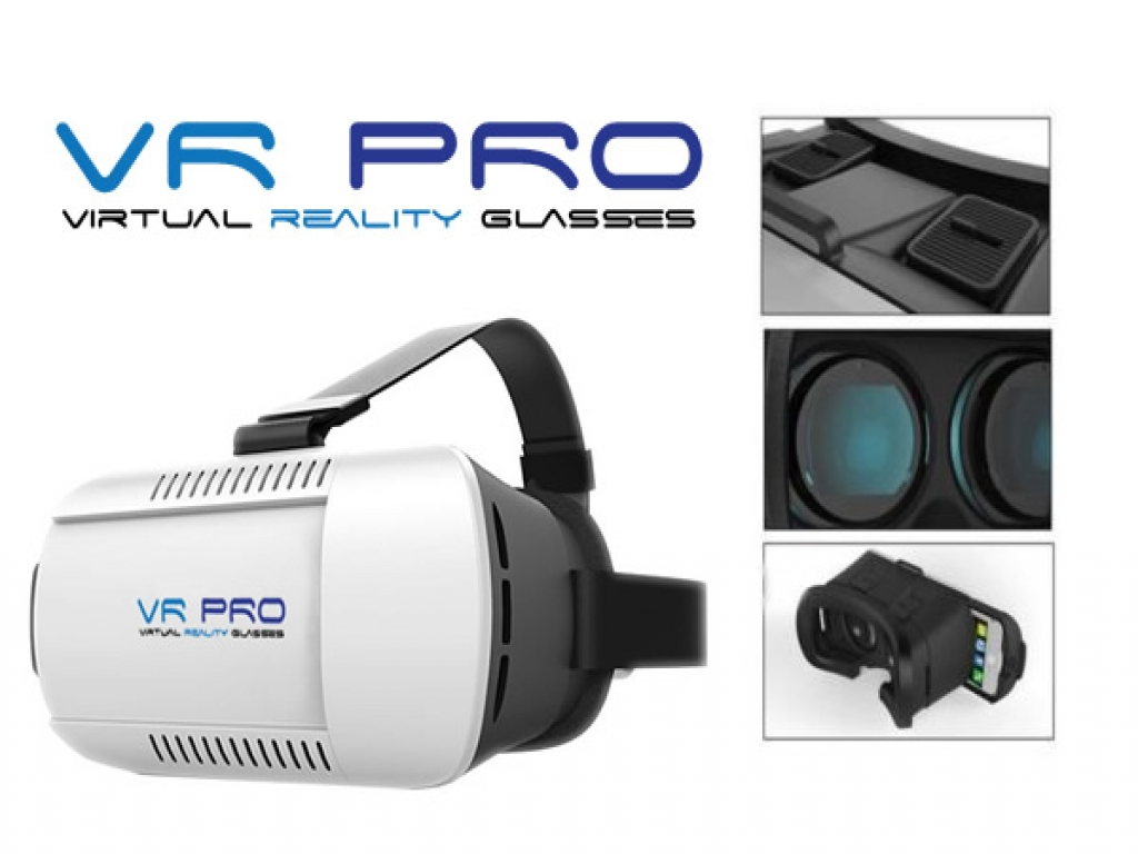 VR PRO Bril Wiko Getaway Virtual Reality Bril pro-kwaliteit!
