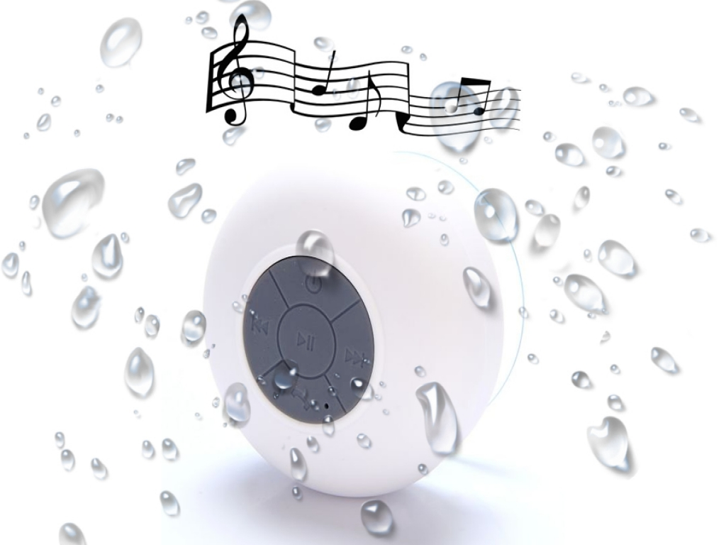 Waterproof Bluetooth Badkamer Speaker Apple Ipad Mini 3