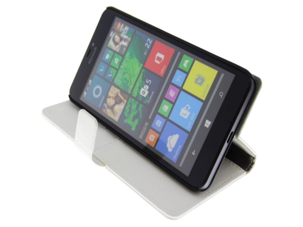 Microsoft Lumia 640 XL Wallet Case kopen? | 123BestDeal
