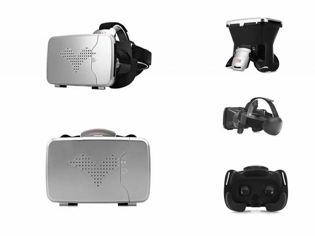Ritech 3 PRO VR bril voor Panasonic Eluga x p 02e |123BestDeal