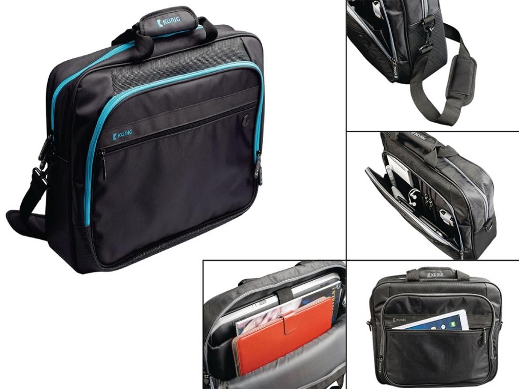 Acer Chromebook 13 Cb5 Laptoptas (Luxe) met hoofdtelefoon doorgang
