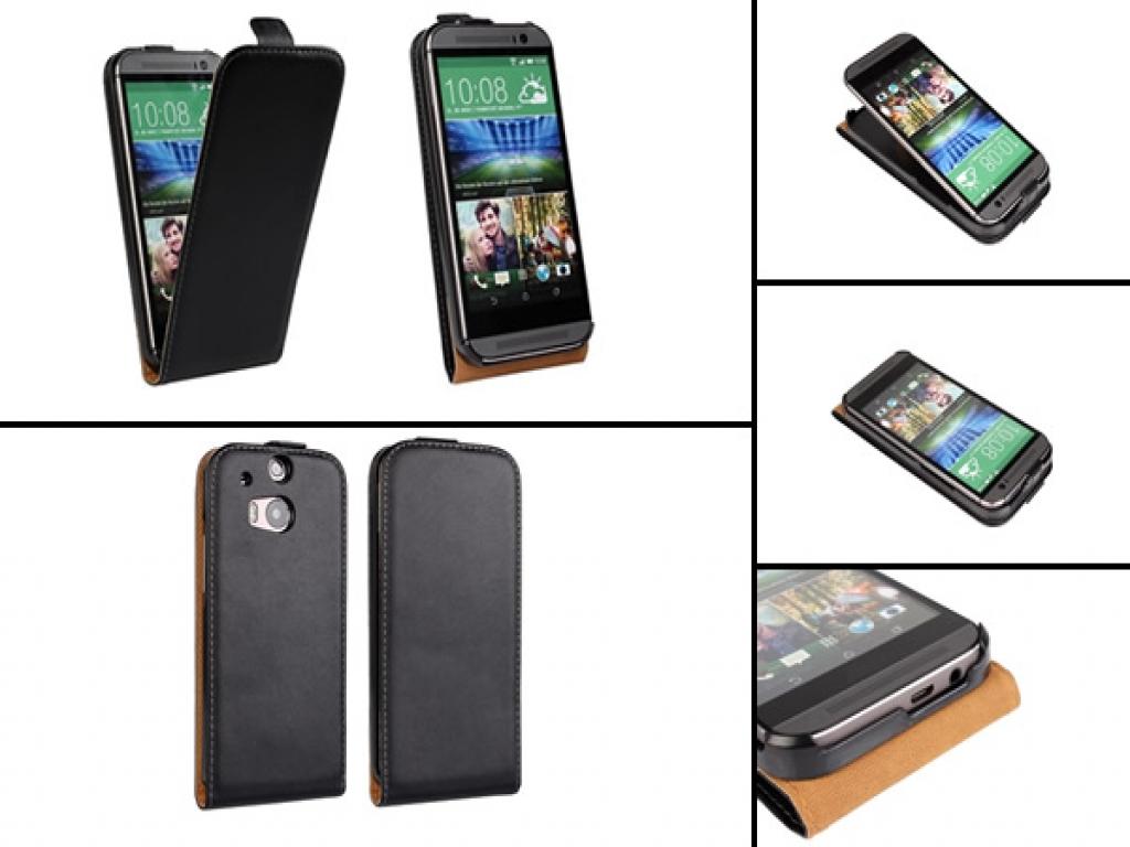 Leren Flip Case HTC One M8