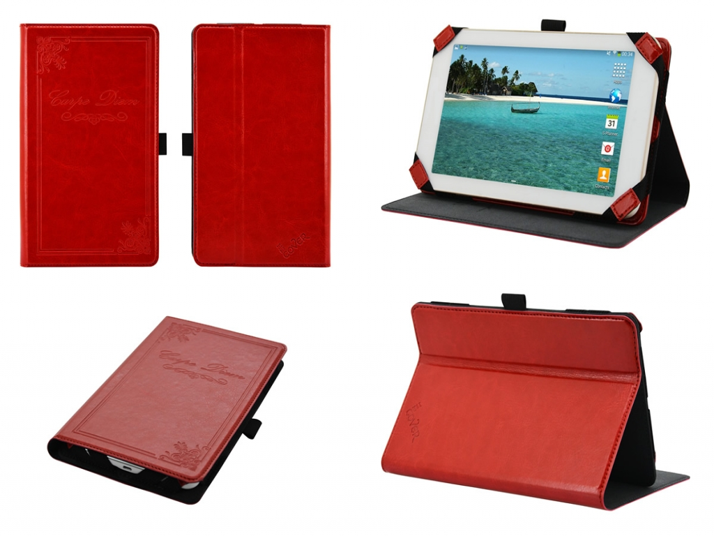 Vintage Carpe Diem hoes voor Samsung Galaxy Tab 3 7.0 T210