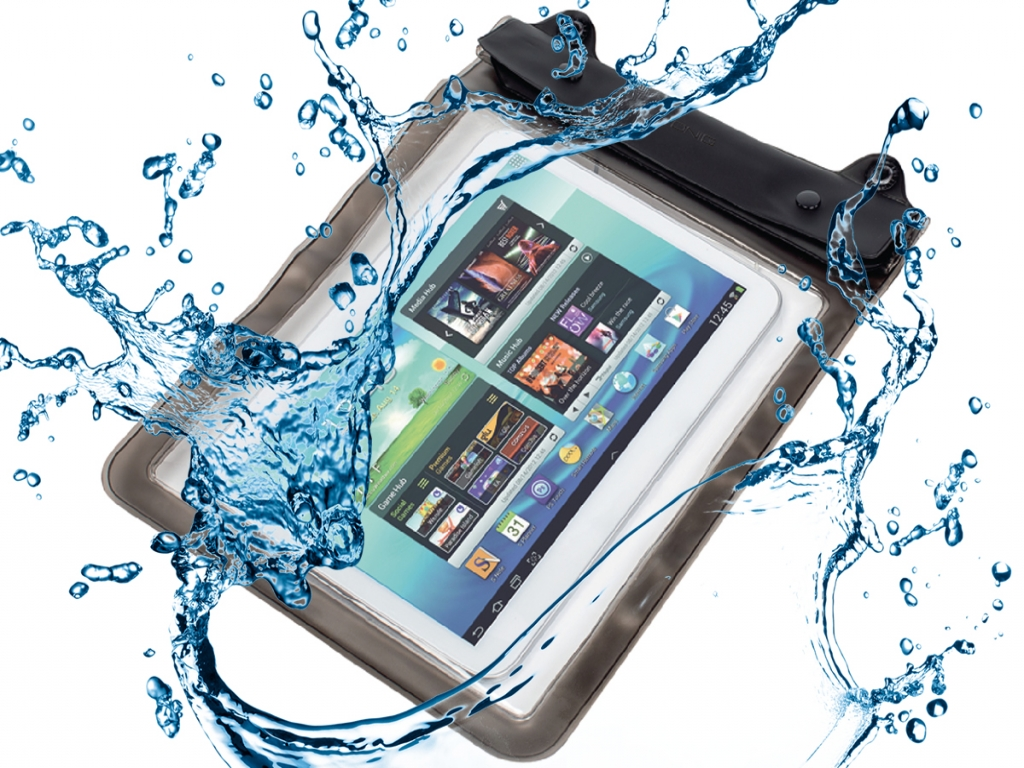 Waterdichte hoes voor Tomtec Android Excellent Tablet 8 Inch