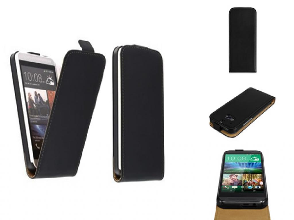 HTC One Mini 2 leren Flip Case