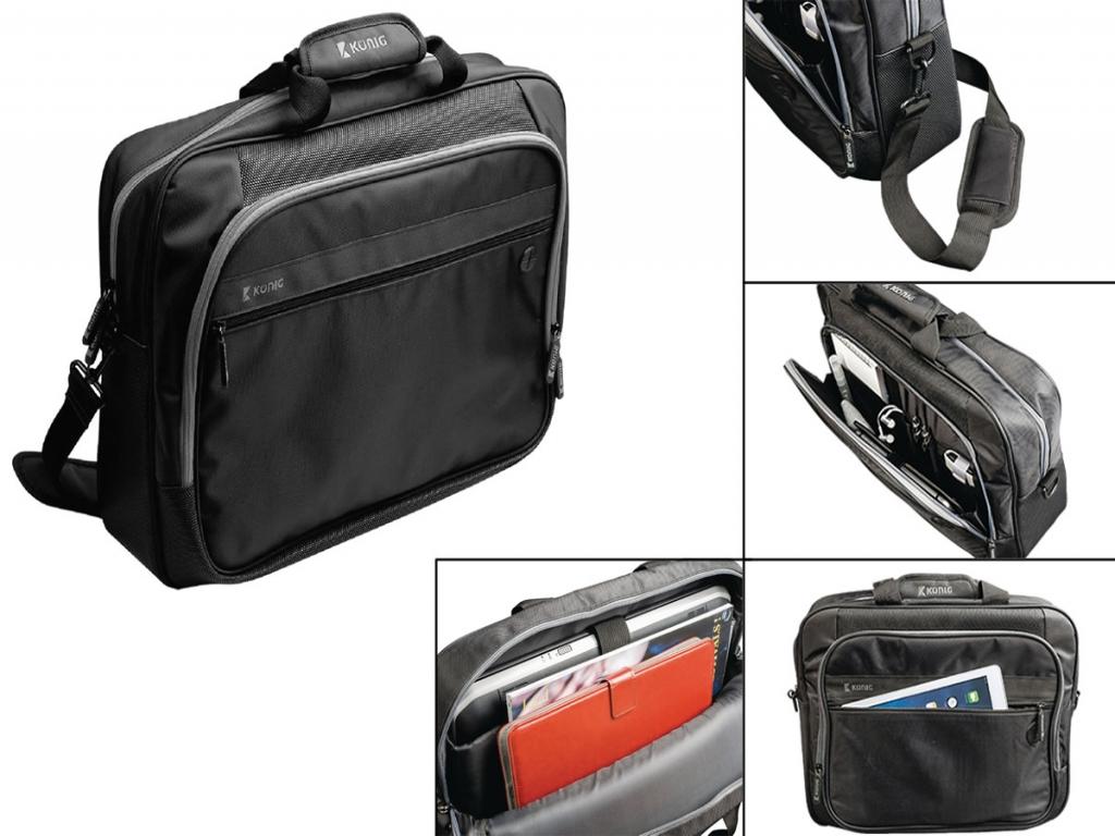 Acer Iconia One 8 B1 820 Laptoptas (Luxe) met hoofdtelefoon doorgang
