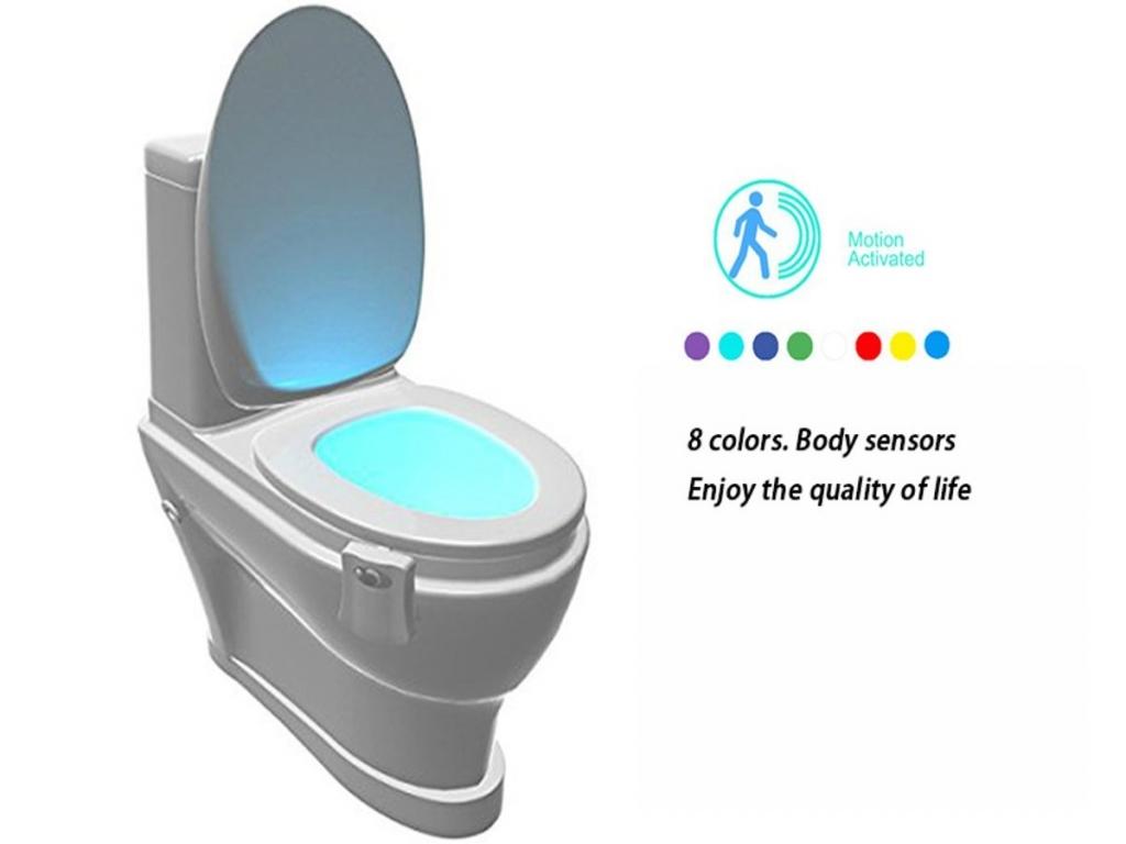 WC-pot verlichting nachtlamp met bewegingsensor