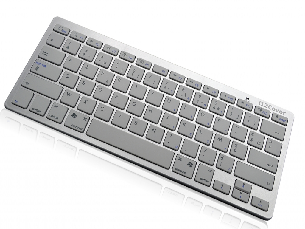 Afbeelding van Draadloos Bluetooth Klavier Keyboard voor Ambiance technology At tablet win 7