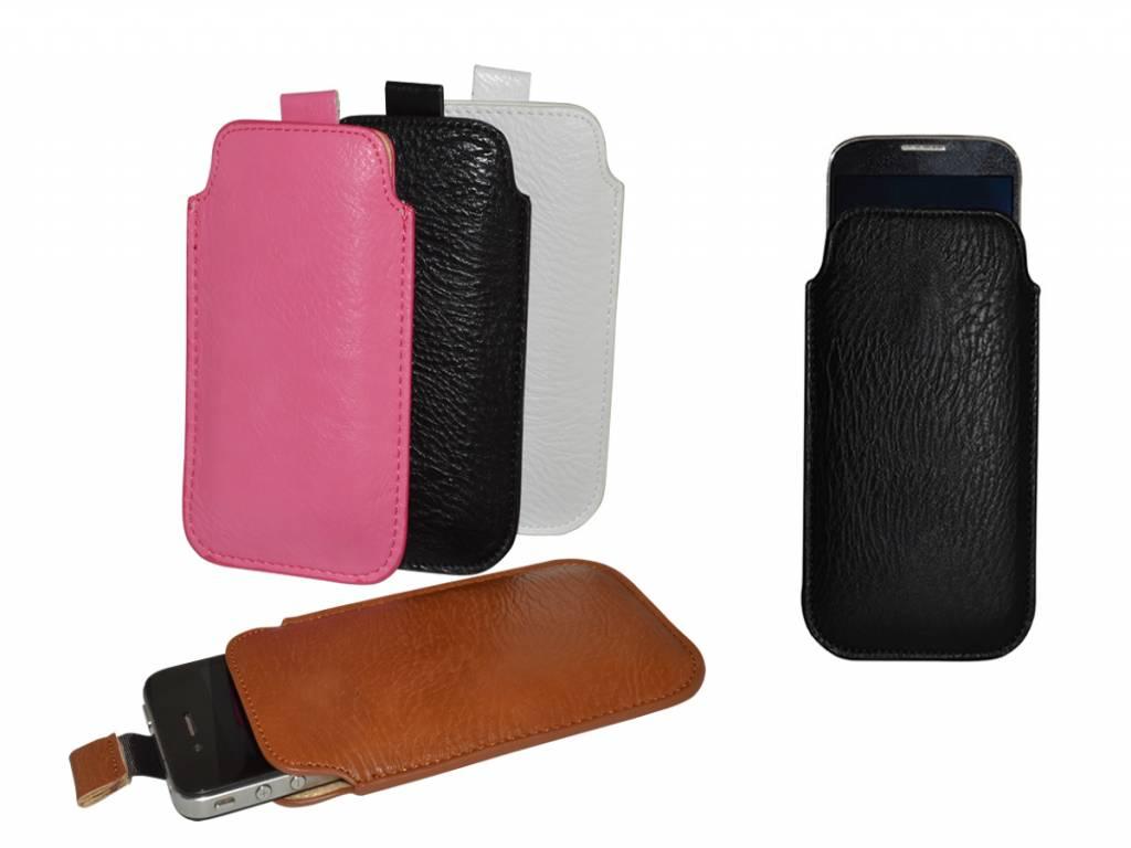 Nokia Lumia 1020 hoesje · Luxe PU Leren Sleeve