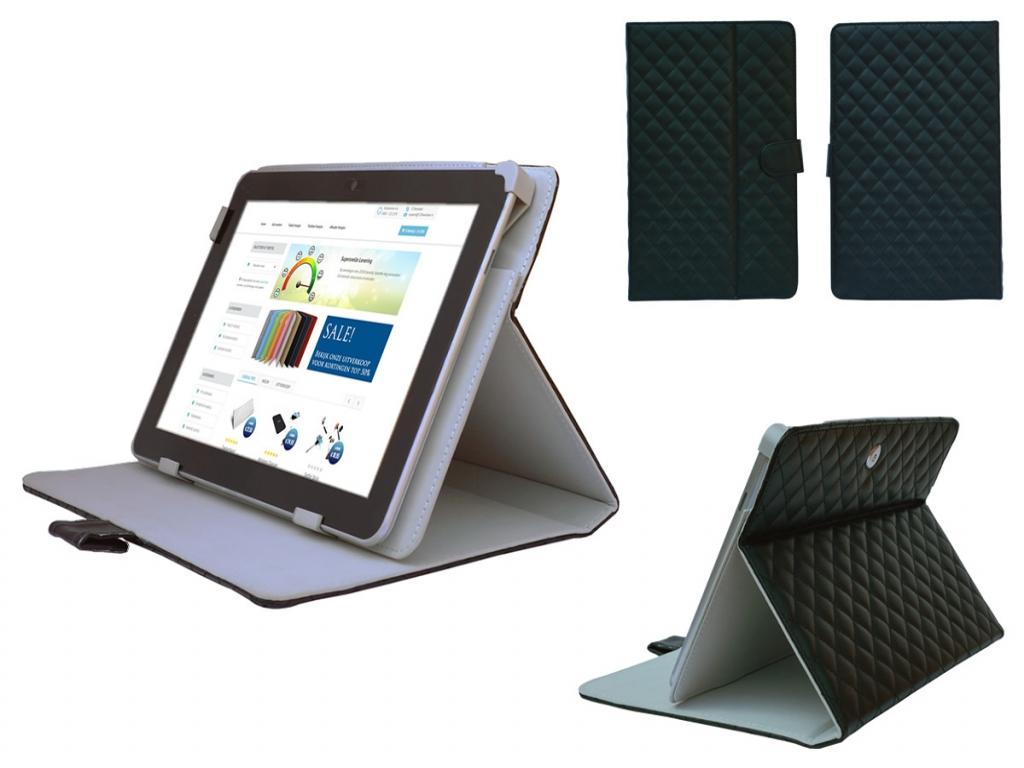 Afbeelding van 10 inch Tablet Case   Diamond Class   Ruitjes patroon