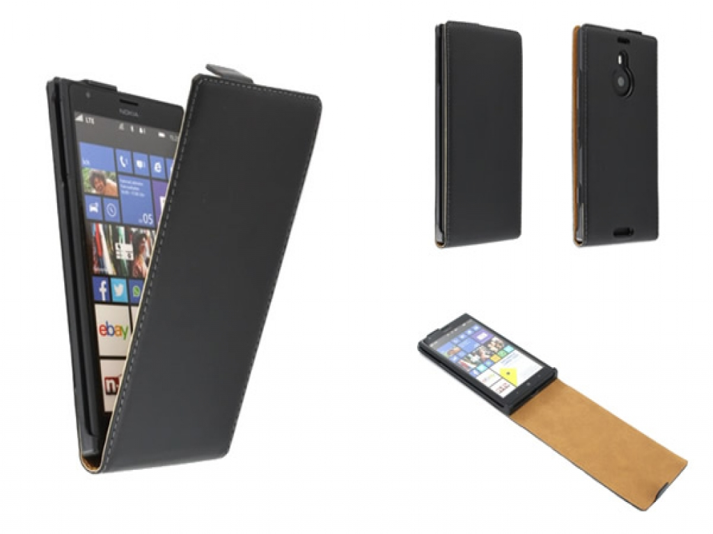 Leren Flip Case Nokia Lumia 1520