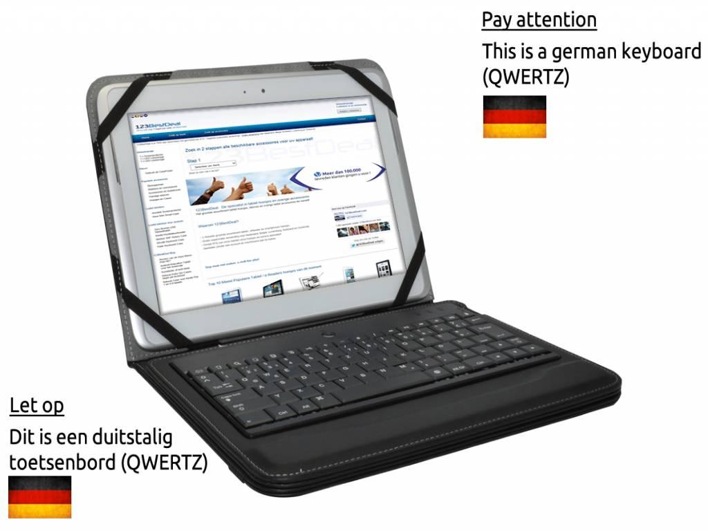 Afbeelding van 3q Ac1024c | Bluetooth Tastatur QWERTZ | Deutschen Layout