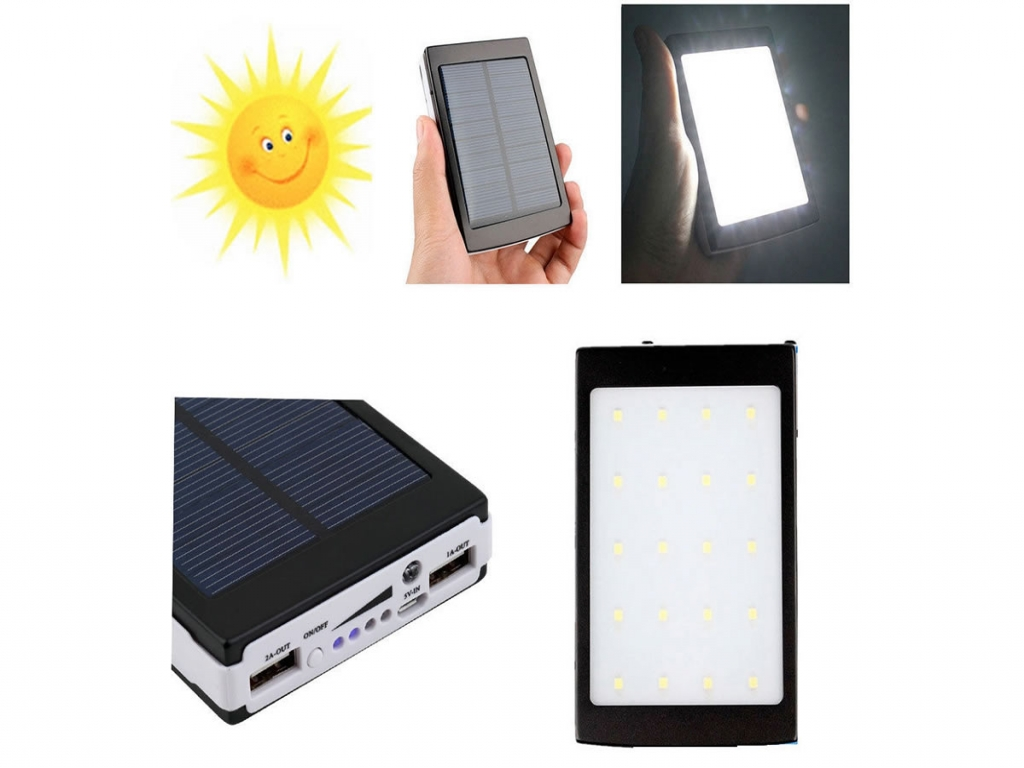 Solar Powerbank 10000 mAh voor Apple Ipad air kopen?