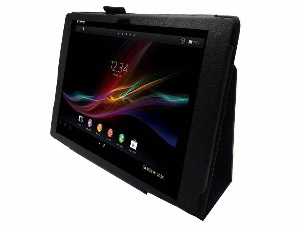 Betaalbare Stand Case voor de Sony Xperia tablet z | Zwart