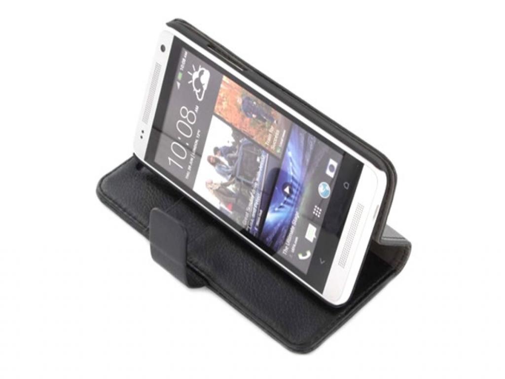 HTC One Mini Book Case met stand kopen? 123BestDeal