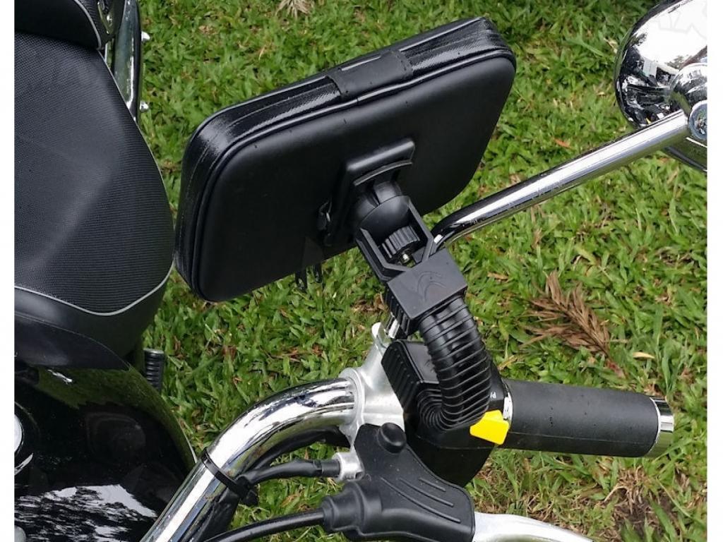 Universele regenbestendige telefoonhouder medion life x4701 voor motor/scooter/brommerwilt u uw medion life ...