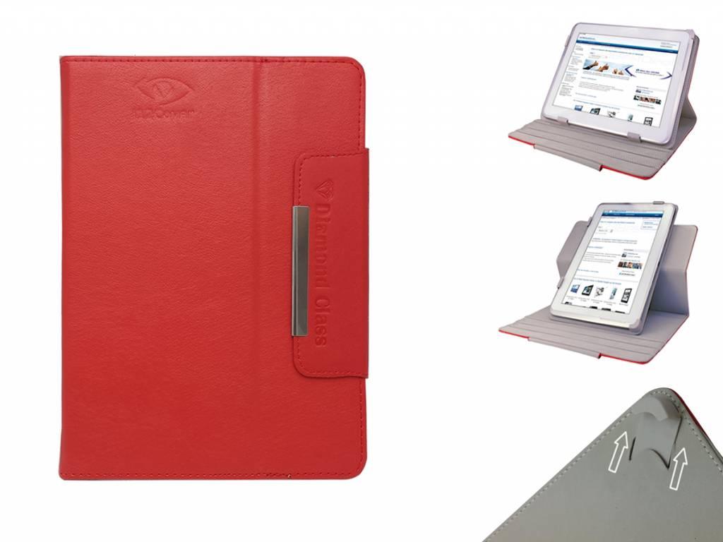 Mpman tablet mp824 diamond class case met 360 graden multi standdeze universele hoes met 360 graden draaibare ...
