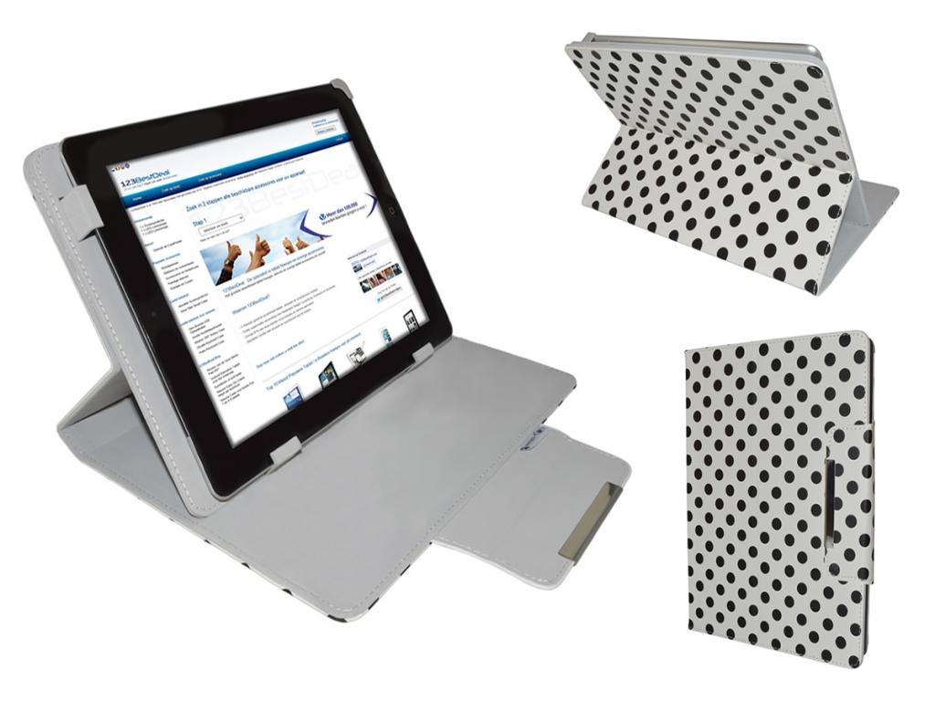 Afbeelding van Aoc Breeze tablet mw0931 Diamond Class Polkadot Hoes met Multi-stand