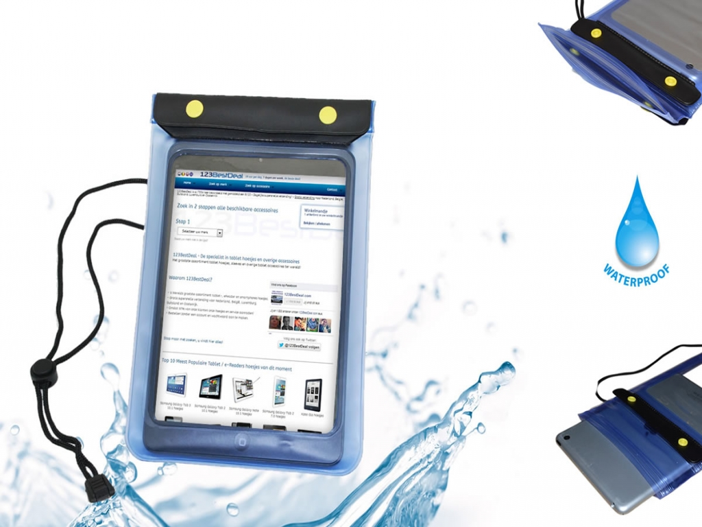 Waterdichte Akai Kids tablet 7 hoes kopen? -123BestDeal