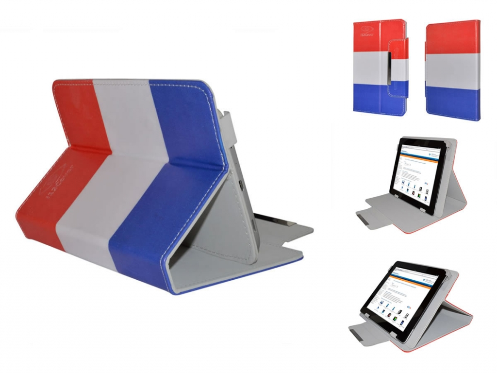 Tomtec 7 Inch Android 4.0 Tablet Hoes met vlag motief