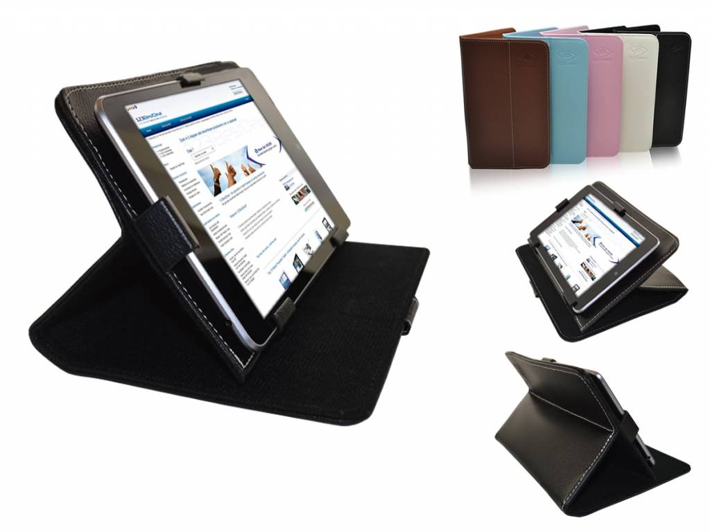 Multi-stand Case voor Qware Pro 3 7 Inch