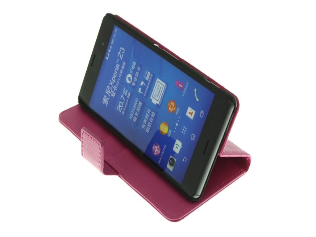 Sony Xperia Z3 Book Case met Stand kopen? | 123BestDeal