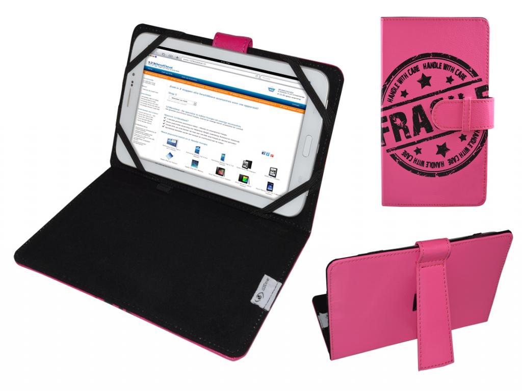 Hoes voor Akai Kids tablet 7 met Fragile Print op cover bestellen?