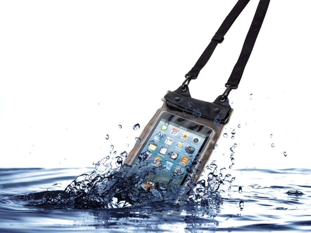 Waterdichte hoes voor Nokia N1 met audio-doorgang