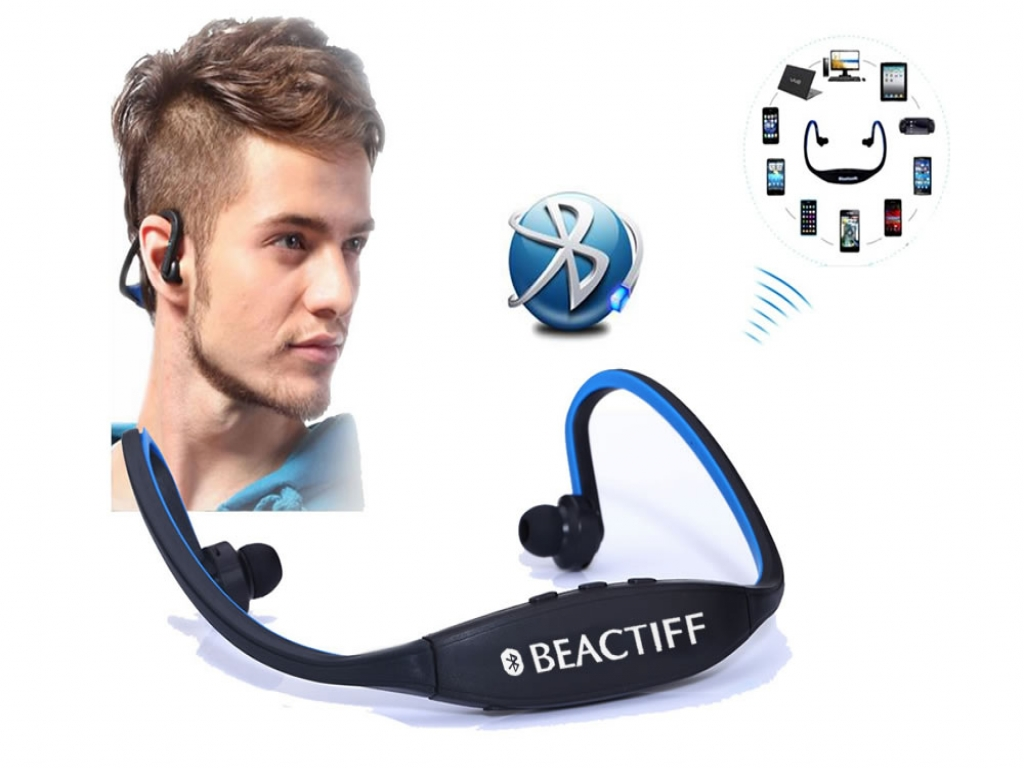 Bluetooth Sport In-ear koptelefoon voor Acer Iconia tab a100 a101