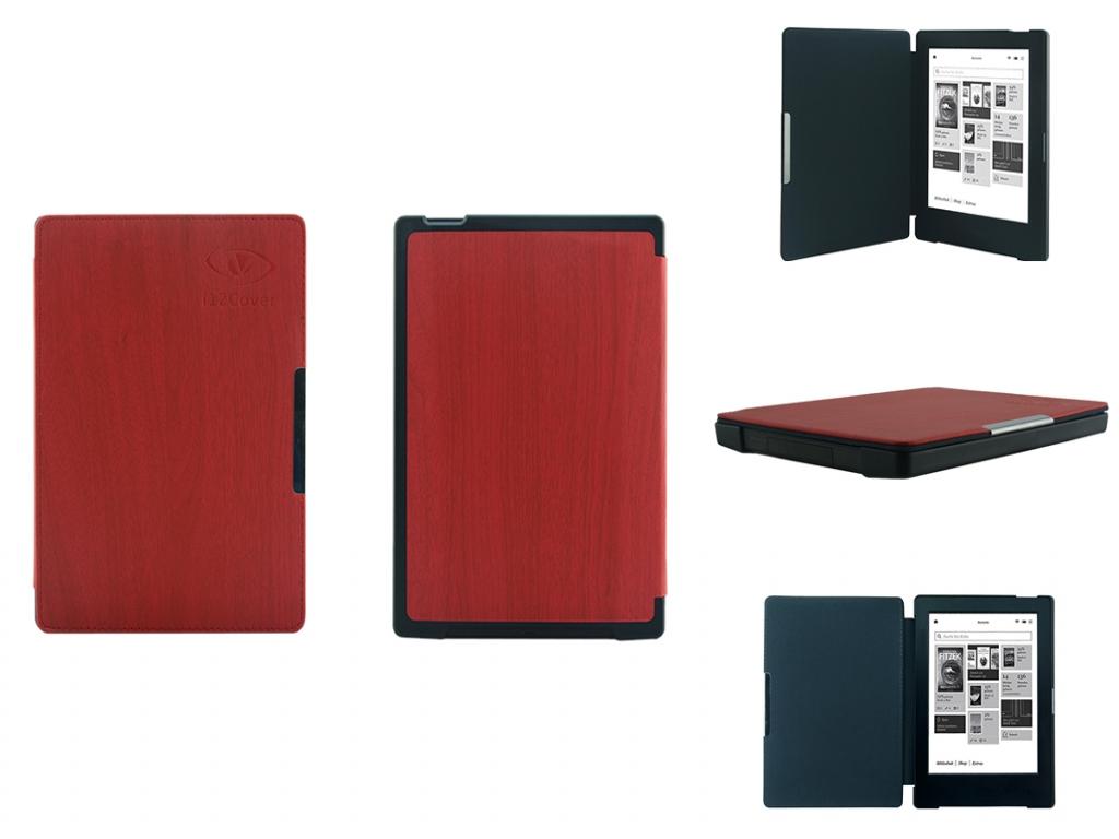 Kobo Aura H2O Cover SlimFit met hout patroon