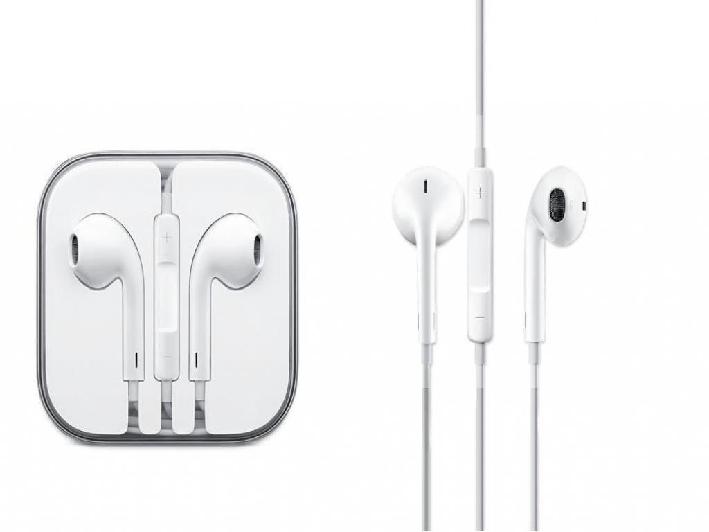 Apple EarPods voor Iphone 5 met afstandsbediening en microfoon