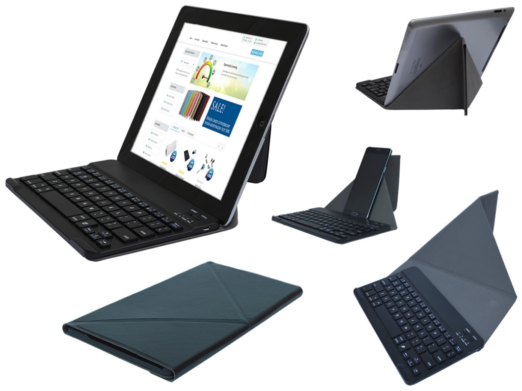 Slim Deluxe Bluetooth Keyboard voor Nvidia Shield