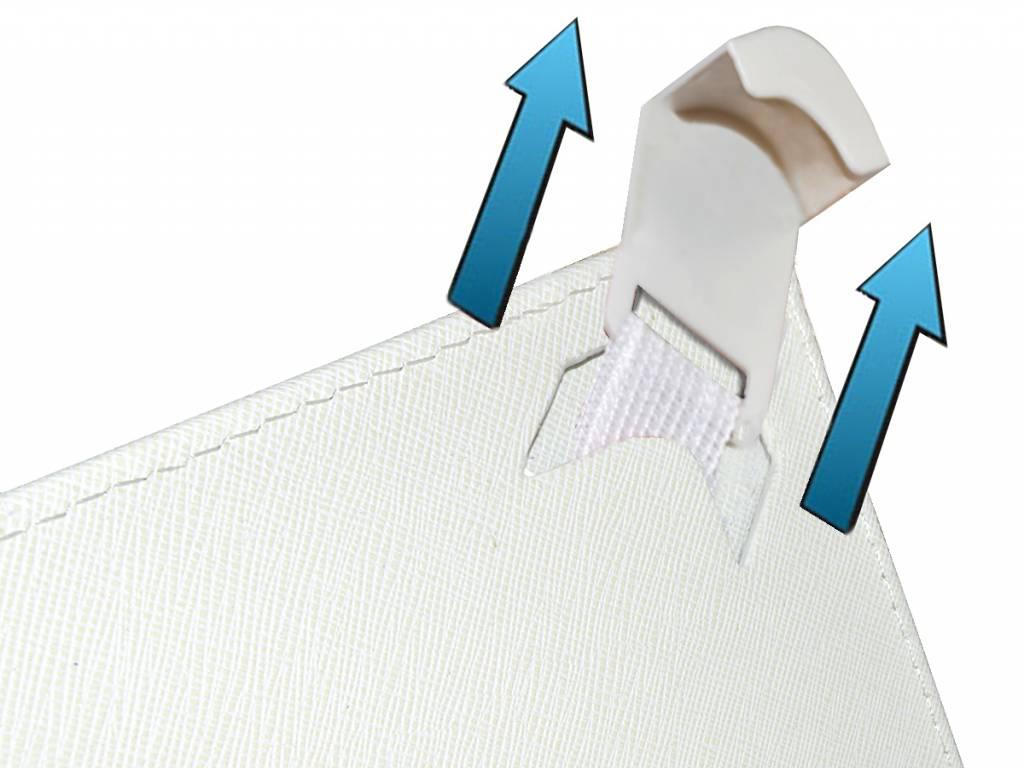 Afbeelding van Keyboard Case | Geschikt voor de Allwinner A13 | Wit