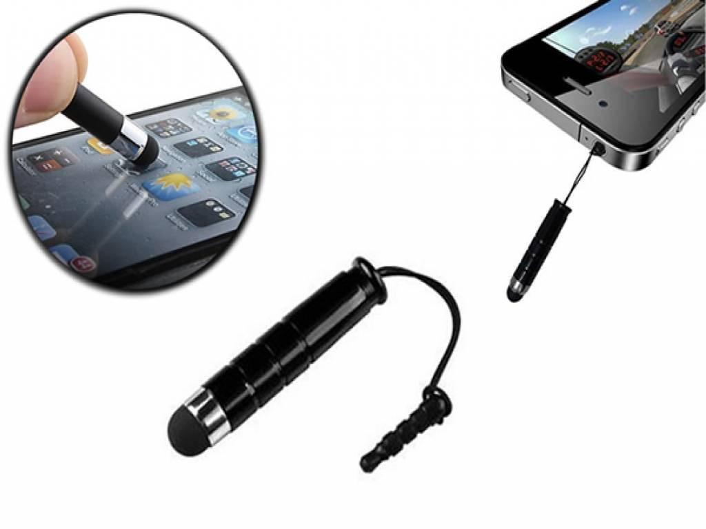 Mini Stylus Pen | Met 3.5 mm plug | Zwart | Kids tablet 7